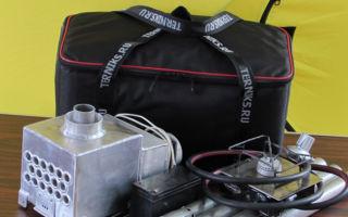 Теплообменник для зимней рыбалки в палатку — купить или сделать своими руками?