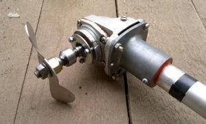Изготовление лодочного электромотора своими руками