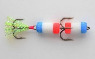 Самодельная поролоновая рыбка