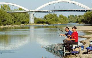 Рыбалка на поплавок на течении