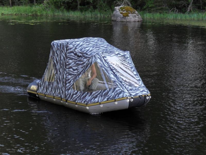 Тент на лодку ПВХ своими руками