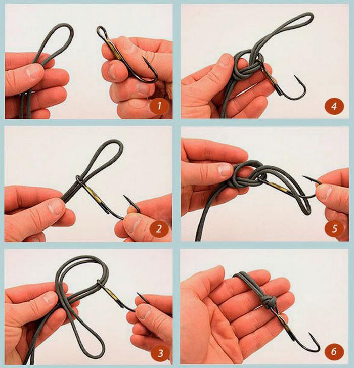 Как привязать ветрлюжок к основной леске