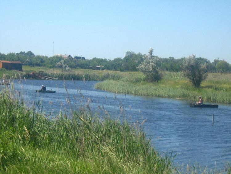Рыбалка в окрестностях Павлограда