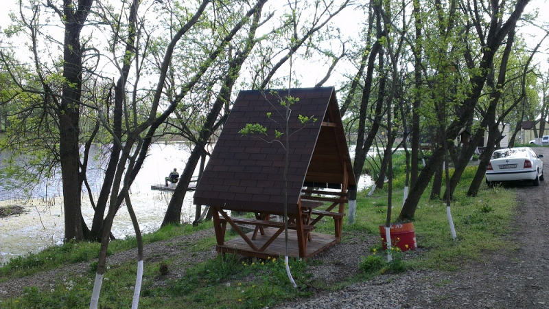 Рыболовная база Краснодарский крвй