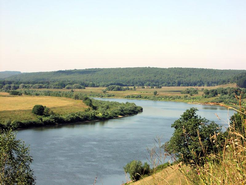Карта река Ока