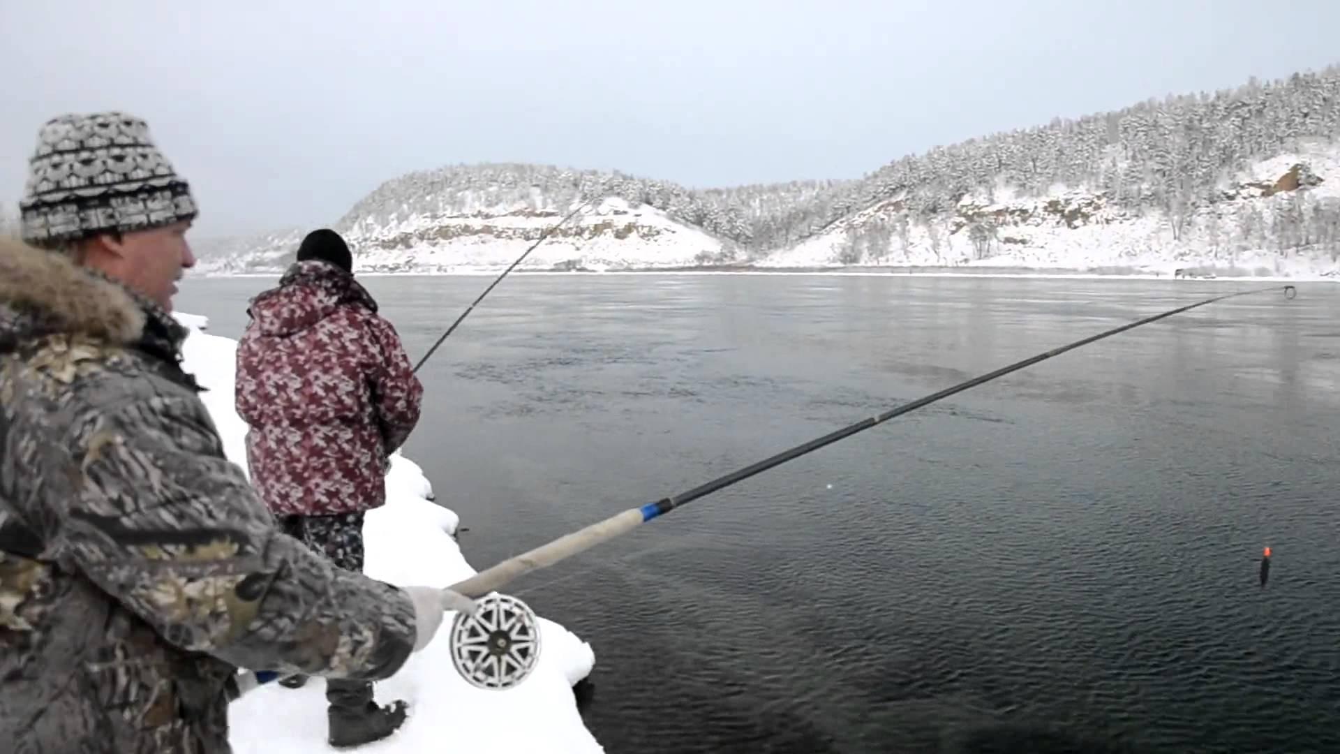 рыбалка на ангаре
