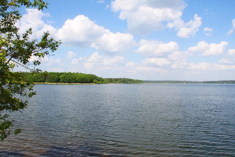 рыбалка на озере сенеже