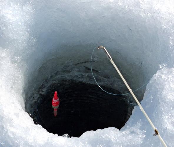 зимняя удочка с поплавком поплавочная зимняя снасть оснастка монтаж поплавок для зимней рыбалки