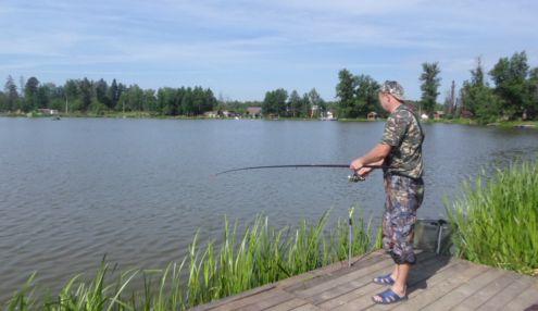 Случай на рыбалке видео