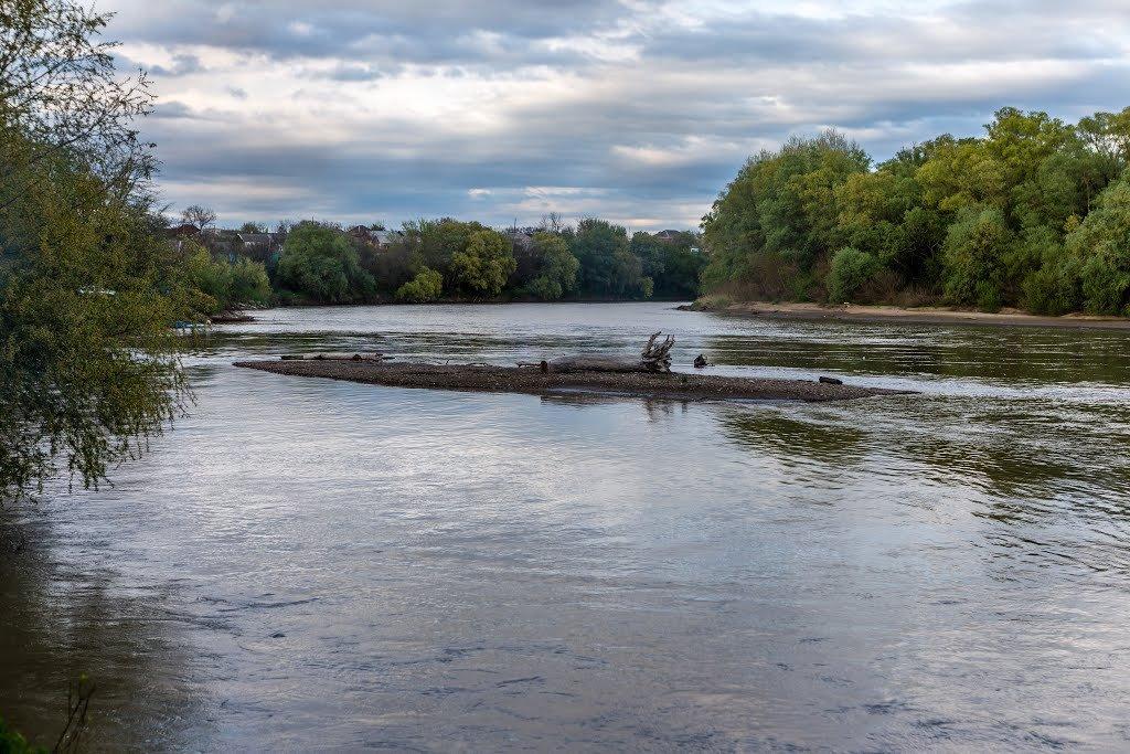 рыбалка на реке Кубани