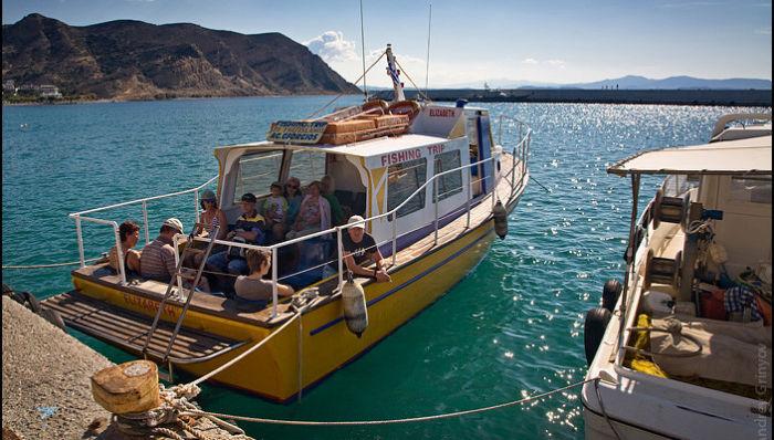 Рыбалка на острове Крит
