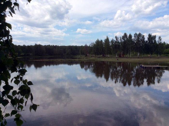 Рыбалка в Леоново