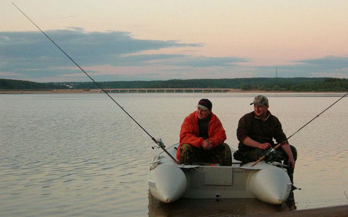 Платная рыбалка на Озернинском водохранилище