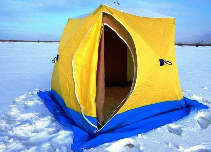 Зимние палатки «Медведь»