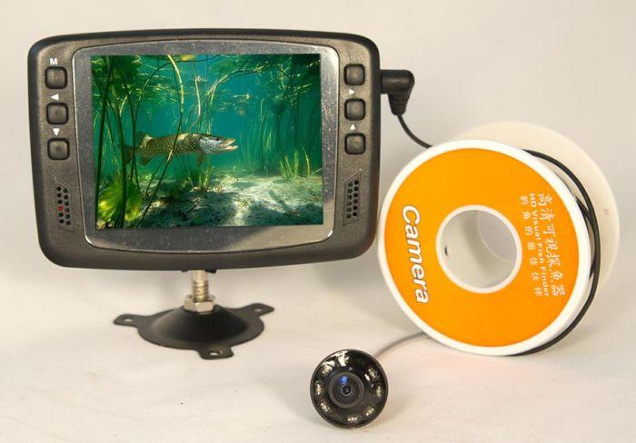 камерах для подледной рыбалки зимой
