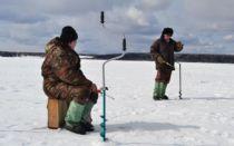 Зимняя платная рыбалка