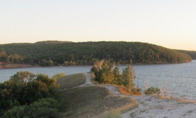 Усинский залив на территории Жигулевского заповедника