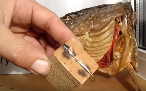 Балансир для ловли судака зимой своими руками